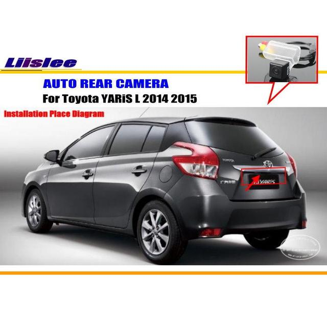 Liislee for toyota yaris l 2014 2015 rear view camera back up park liislee for toyota yaris l 2014 2015 rear view camera back up park camera swarovskicordoba Choice Image