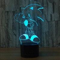 Cartoon Anime Toy USB 3D Light Touch LED Lamp Christmas Decoration Kid S Gift