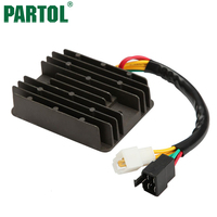 DC 12V Black Metal Regulator Rectifier For Ducati S 800 Ie 2003 800 SS 03 04748