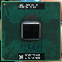 Intel Core 2 Duo p9700 SLGQS 2.8Ghz 6M 1066MHz Socket Mobile CPU Processor can work