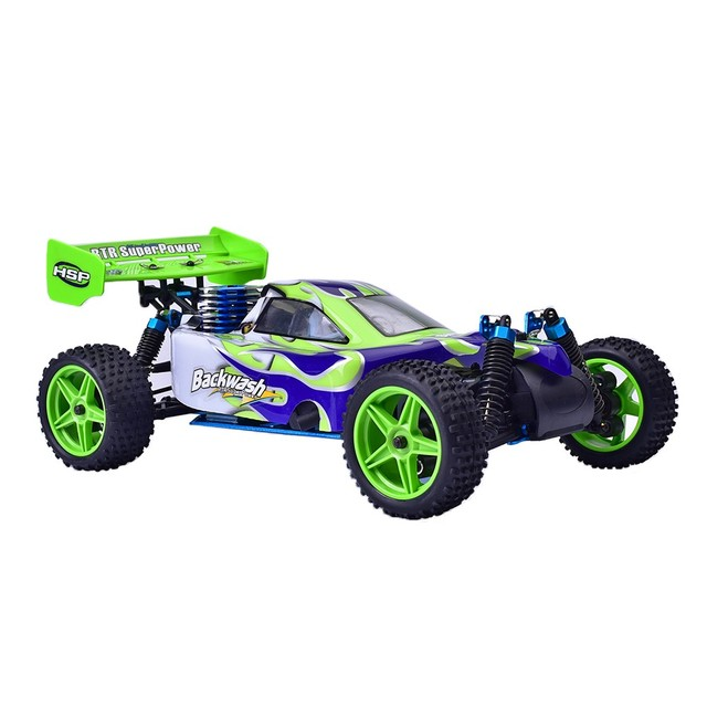hsp 94166 rc car 110 scale nitro gas power 4wd two speed off road