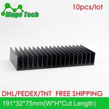 LED Aluminum Heatsink Plate 30W 50W Radiator Cooling Cooler Fit Transistor IC Thermal Conductivity LED Radiator Electronics