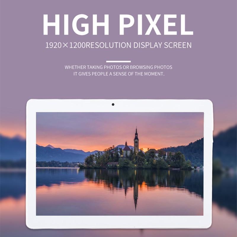 10,1 дюймов 3g/4 г LTE планшетный ПК Android 7,0 Octa Core 4 ГБ + 64 ГБ 1920*1200 ips Smart Планшеты шт Dual SIM WI-FI FM Bluetooth Планшеты