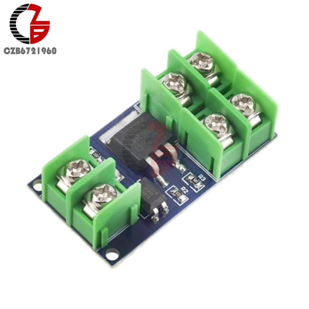 DC 5V-36V Electronic Pulse Trigger Switch Control Panel MOS FET Field Effect Module Driver for LED Motor Pump dc 5 36v dual road mos tube module dc12v 24v trigger cycle timing delay switch circuit for controlling motor lights led etc