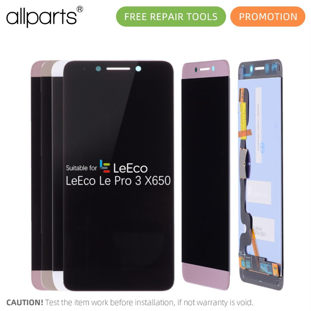 ALLPARTS 5.5'' Display For LeTV LeEco <font><b>Le</b></font> Pro 3 X650 LCD Touch Screen Leeco <font><b>X651</b></font> X656 X658 X659 Digitizer Replacement Parts image