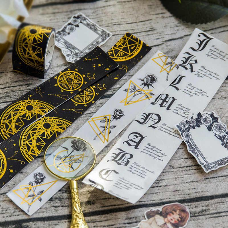 2-5cm * 5 m Gót bé gái Gắp Nóng Washi băng trẻ em DIY Nhật Ký trang trí mặt nạ Băng Kawaii Đồ văn phòng phẩm thêu Sò dụng cụ