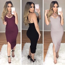 DHEI-DBAI 2017 new fashion women summer a line sleeveless Asymmetrical Knee-Length dresses girl lady work dress plus size