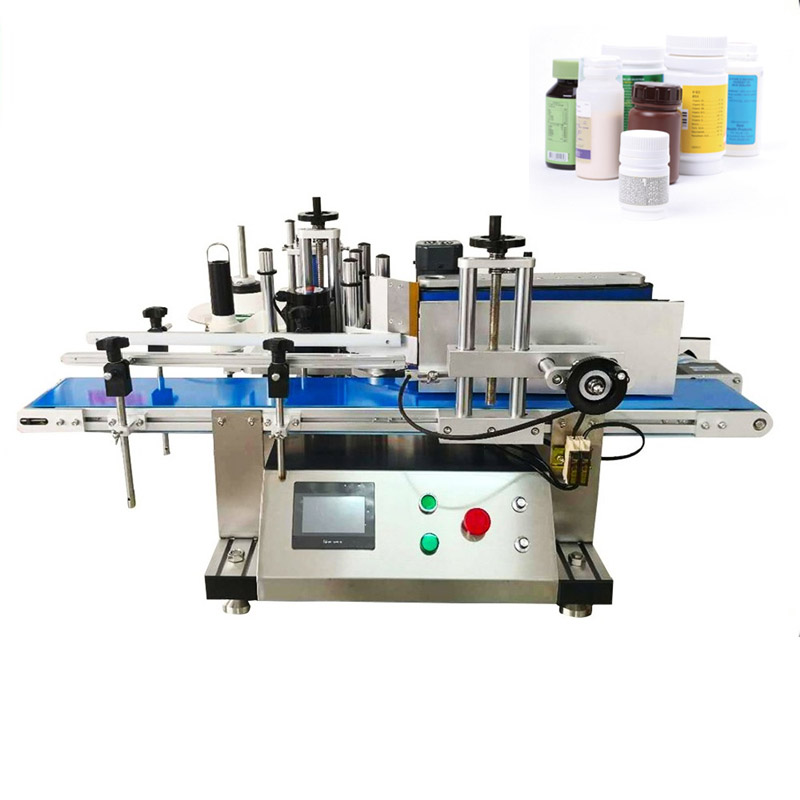 YTK Full Automatic Round Bottle Labeling Machine For Food