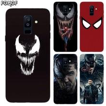 Funda Print Soft TPU Back Case For Samsung Galaxy A6 A8 Plus A5 A7 A9 Star 2018 A3 2017 A6S A8S Cover Venom Marvel