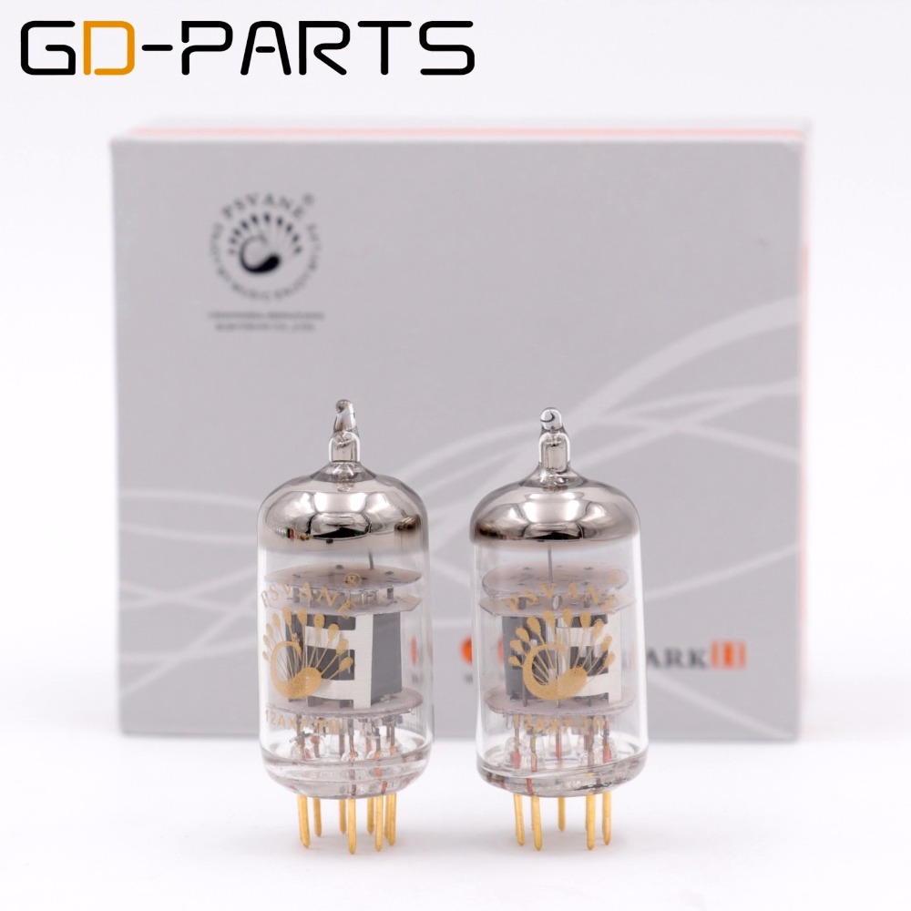 PSVANE Matched Pair 12AX7-TII ECC83 12AX7-T Vacuum Tube MARK II For Vintage Hifi Audio Tube Pre-amp Guitar AMP Replace 12AX7 1 matched pair psvane kt88 t mark ii vacuum tube new treasure factory tested matched pair