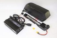 Electric Bicycle 36V 13.2AH TIGER SHARK Down Tube Lithium Battery For eBike 18650 22P Cell With BMS 2A Or 5A Charger