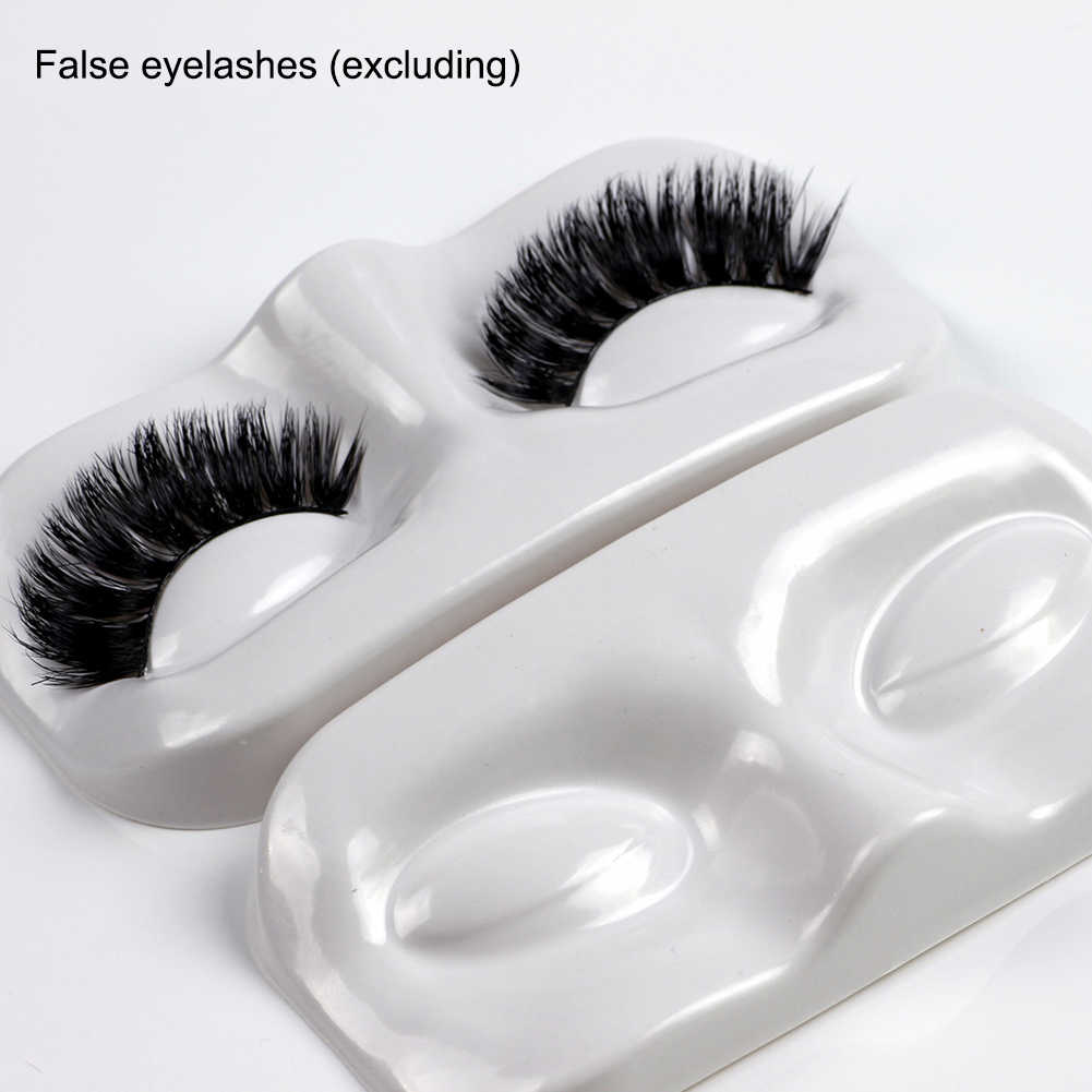 20pcs 3D Empty Eye Lashes Packing Tray case Thicken fake false Eyelashes Packing plastic Box Trays