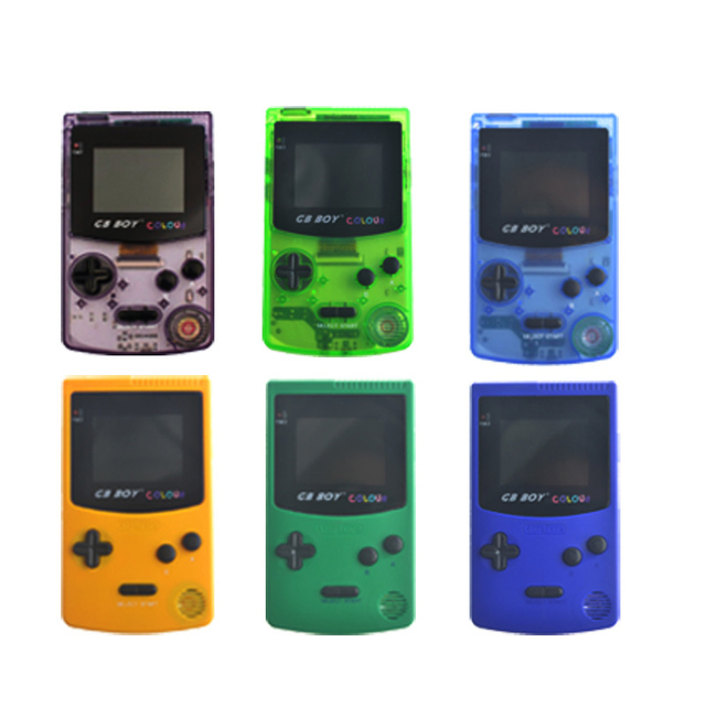 Kong Feng GB Boy Classic Color Colour Handheld Game Consoles 2.7'' Hand Held Game Player With Backlit 66 built-in Games