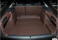 Good quality! Special trunk mats for New Skoda Superb (sedan) 2016 durable waterproof boot carpets for Superb 2017,Free shipping