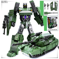 Children Robot Toy Transformation Anime Series Action Figure Toy Tanks Robot Car ABS Plastic Model Action Figure Toy for Child