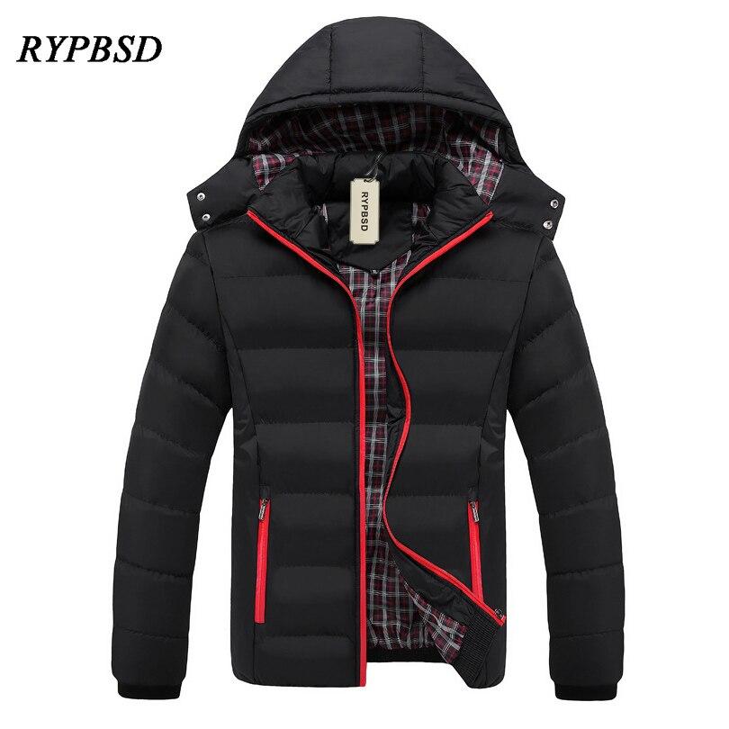 Men's Winter Jacket 5XL Cotton Men Winter Coat Casual Jaqueta Masculina inverno 2018 New Fashion Warm   Parka   Men 5XL
