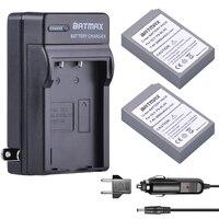 2000mAh 2 PCS BLS 5 BLS5 Battery Charger For Olympus OM D E M10 PEN E