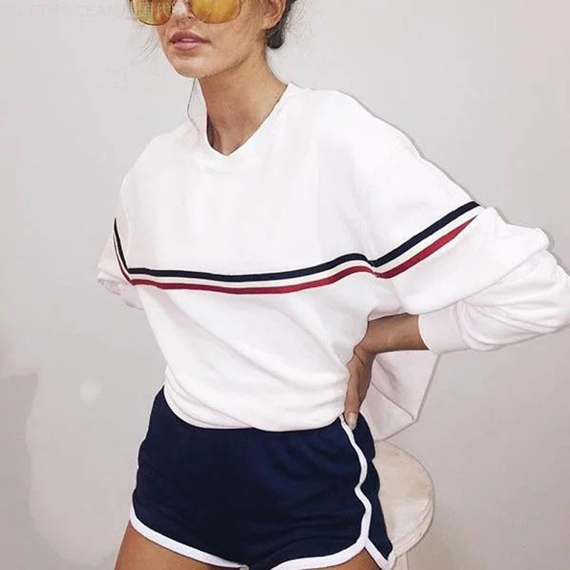 Ariana Grande Sweatshirts Women Tumblr Blackpink Seventeen Bts Bt21 Kpop Got7 Japanese Tracksuit Hoodies Jumper female Oversized