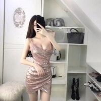 2019 summer women elegant sexy sundress vintage spaghetti strap retro pu dresses ladies faux leather sling vestidos