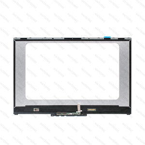 "Image 2 - 15.6 ""LCD LED תצוגת מסך מגע Digitizer + הלוח הקדמי עבור Lenovo יוגה 730 15IKB 81CU יוגה 730 15IWL 81JS NV156QUM N51 N156HCE EN1"