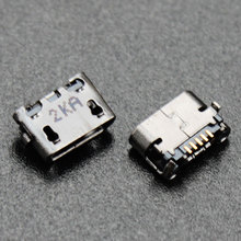 YuXi 100% New Micro USB socket Mini USB jack Connector charging port For Asus Me170 K012