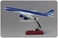 32cm Resin Azerbaijan A340 Airplane Model Azerbaijan Airlines 4K AZ86 Airbus Airways Aircraft Plane Aviation Model Collections