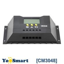 30A 48V Solar Charge Controller Digital LCD Display Solar Panel Light Timer Control for Off Grid System Solar Voltage Regulator цена в Москве и Питере