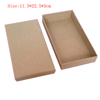 Box For Jewelry Free Shipping Wholesale 20pcs/lot 22.5*11.5*3cm Kraft Paper Jewelry Gift Packaging Boxes