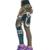Mulheres 2016 Moda de Cintura Alta Elástico Ocasional Imprimir Leggings Aptidão Fino Calças Leggings Tornozelo-Comprimento WAIBO URSO