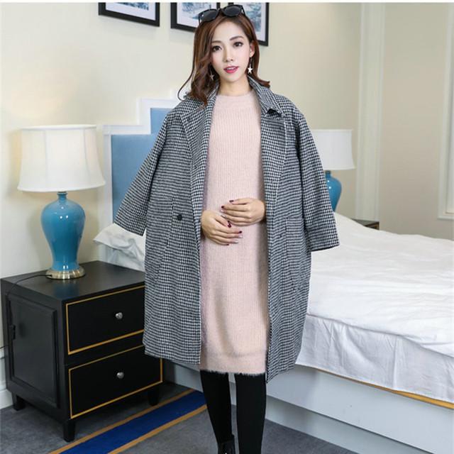 Moda Abrigo de Invierno 2016 Nueva Capa de Las Mujeres de Gran Tamaño Caliente Prendas de Abrigo para Las Mujeres Embarazadas Mujer Casaco Jaqueta Feminina WJ8813