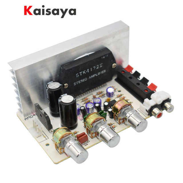 Sanyo Dikke Film Chip 2X50 W AC15 18V 2.0 Stereo Audio High Power Versterker Gemonteerd Board E1 006