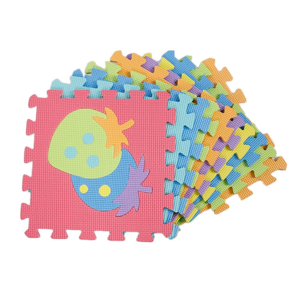 Vegetable Pattern Foam Carpet Baby Play Mat Large