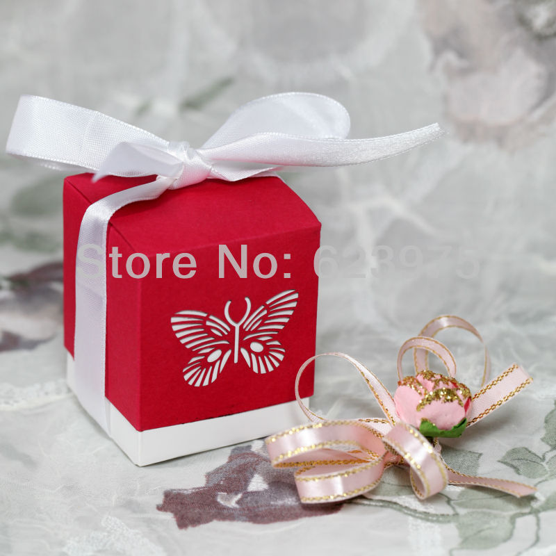 Popular Red Favor Boxes-Buy Cheap Red Favor Boxes lots from China ...