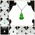 Yumten Pendant Set Opal Necklace Collane Collier Creative Section Evening Dress Is Wild Birthday Present Dames Ketting Diopside