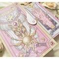 Card Captor Sakura 56 Unidades Tarjetas Con Rosa Clow Libro Mágico Set Nuevo en Caja