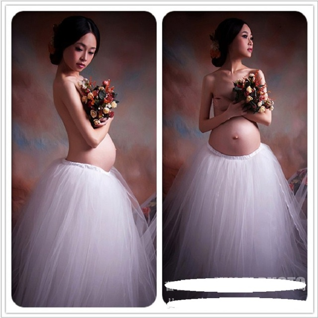 Maternidade gravidez elegante fantasia vestido de renda branco fotografia adereços estilo real longo dress mulheres grávidas sessão de fotos vestido dress