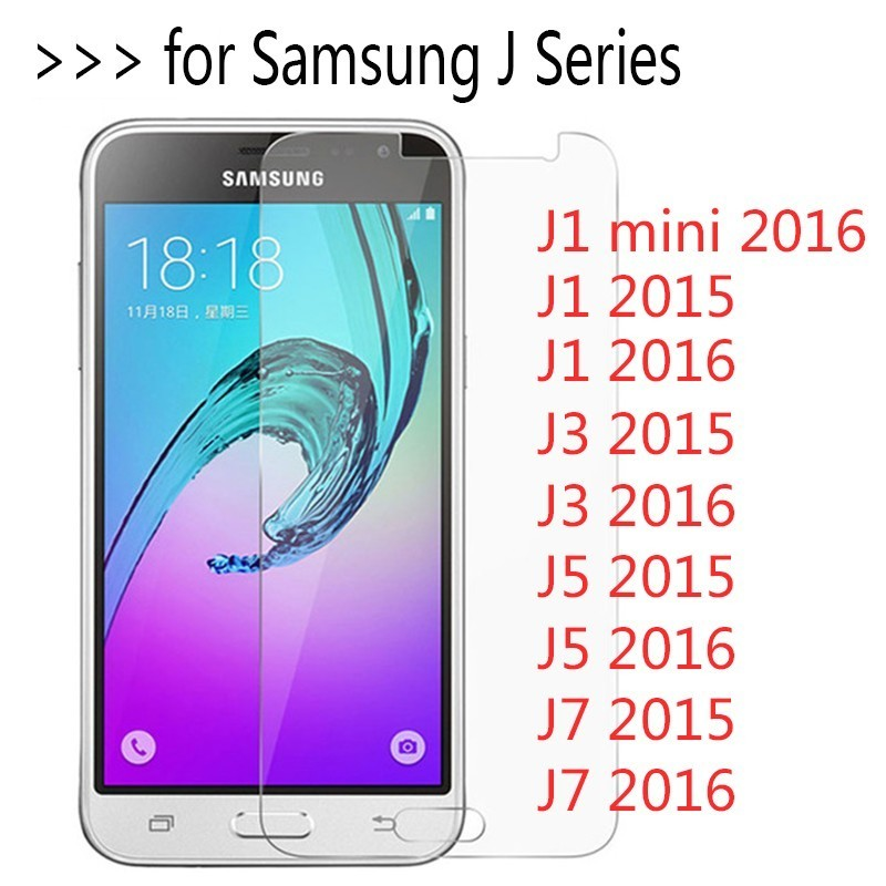 9H Tempered Glass For Samsung Galaxy J1 Mini Neo Duos J5 J7 2016 J100 J500 J710f J300 J320F J3 Screen Protector Film Cover Case