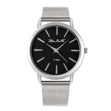 Женские роскошные брендовые сетчатые часы из нержавеющей стали, Женские кварцевые наручные повседневные часы, нарядные часы, популярные женские часы, маленькие золотые часы с браслетом