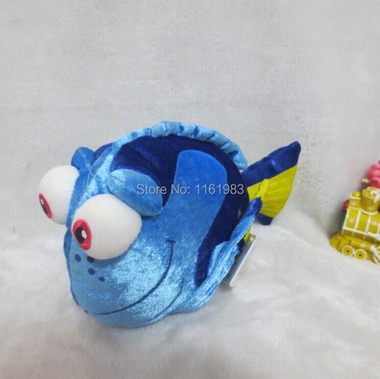 Cute clownfish finding nemo blue clown fish stuffed nemo for Clown fish price