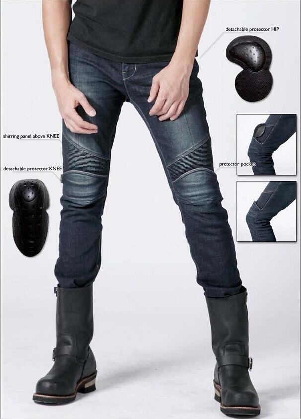 2016 новые горячие продажи uglyBROS Сlub - 2 к кевлар профилактики пожарной ткань ковбои джинсы мотоцикл ездить джинсы Motor брюки синий