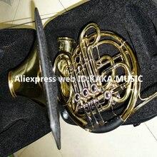Новейший профессиональный CTE 4 ключ двойная французская валторна withcase золото латунь