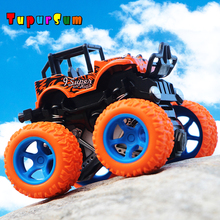 Mini Monster Inertia Four-Wheel-Drive off-Road Vehicle Children Simulation Model Car Anti-Shatterproof Toy Car Baby Car Model four wheel drive off road vehicle simulation model toy car model baby toy car gift