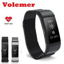 Водонепроницаемый Smart Band S18 сердечного ритма крови Давление монитор Смарт Браслет фитнес трекер Браслет для IOS Android наручные часы