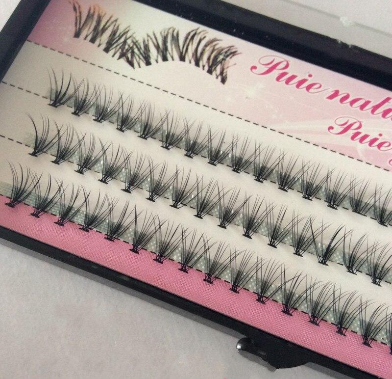 Fashion 60pcs Professional Makeup Individual Cluster Eye Lashes Grafting Fake False Eyelashes Free Shipping Cosmetic Tools