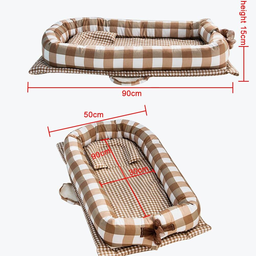 2020 nova cama do bebê portátil dobrável