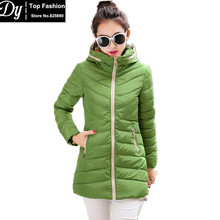 New Cotton Padded Long Hooded Winter Jackets For Women Fashion  Down Parka Women's Winter Jacket Coat Female Waterproof Jacket