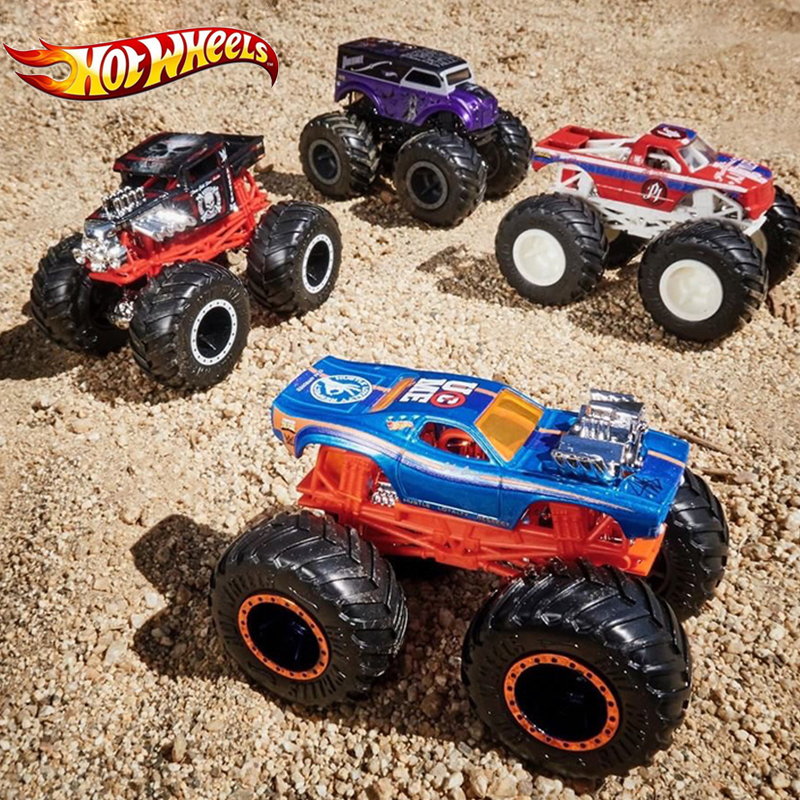 Hot Wheels 2019 New Metal Car Toy Monster Trucks Assortment Big Tyre Cars Destroyer Fyj44 Hotwheels Lover Collection For Boy Diecasts Toy Vehicles Aliexpress