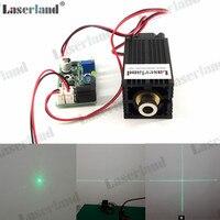 3350 10 mW 30 mW 50 mW 100 mW 520nm Dot Line Cross Grünen Laserdiodenmodul TTL-in Bühnen-Lichteffekt aus Licht & Beleuchtung bei