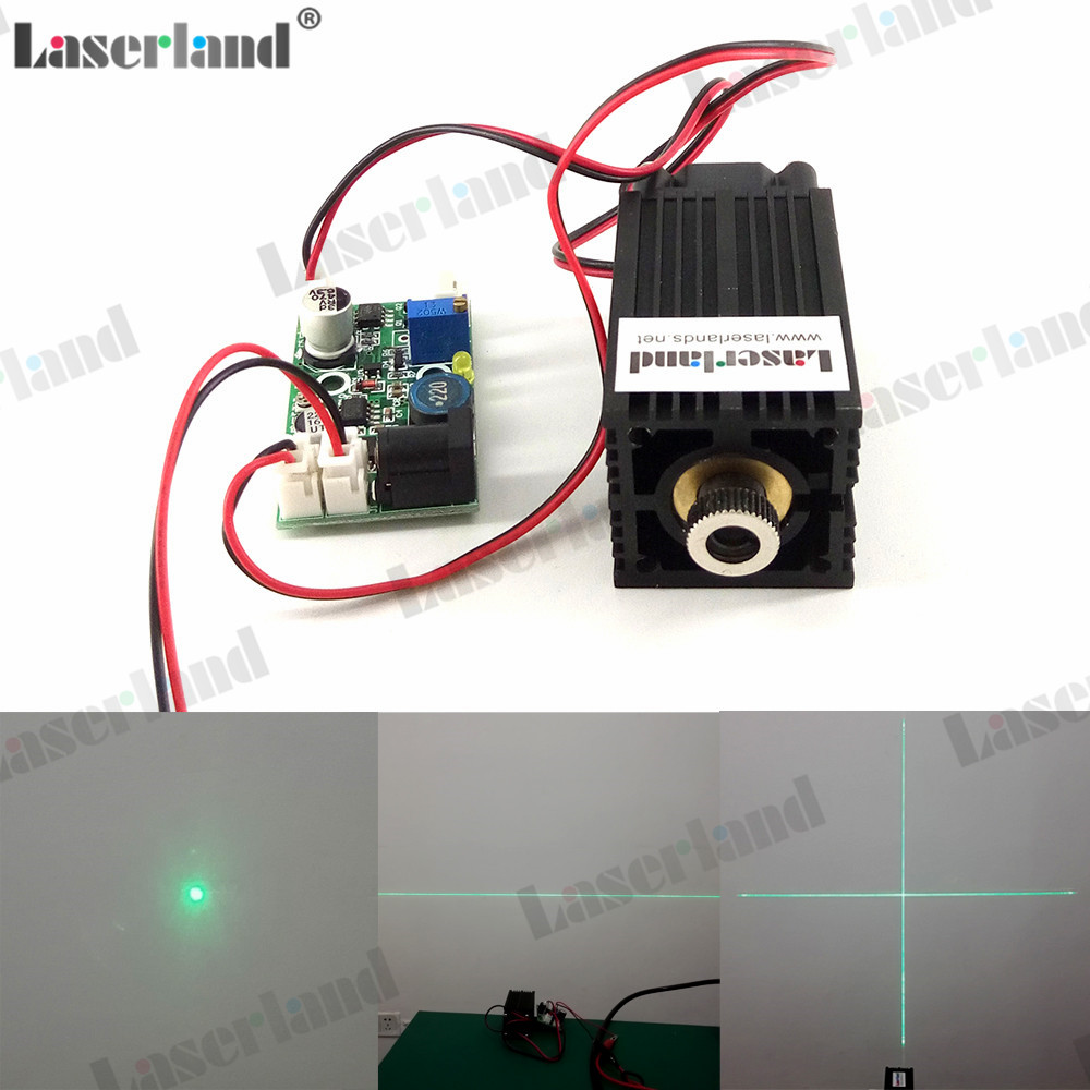 3350 10mW 30mW 50mW 100mW 520nm Dot Line Cross Green Laser Diode Module TTL 12 70mm 10mw 30mw 50mw 100mw 150 200mw 532nm green dot line cross focusable laser diode module