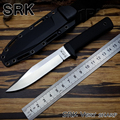 Cold Steel SRK VG-1 Fixed Blade Knife 7Cr17Mov Blade ABS+TPR Handle Hunting tool outdoor Survival Camping knives